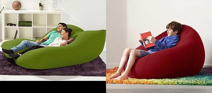 ビーズクッション(人をダメにするソファ)の無印良品・ニトリ・ヨギボー製品と利点と欠点