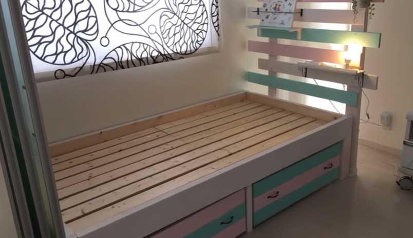 DIYすのこベッド