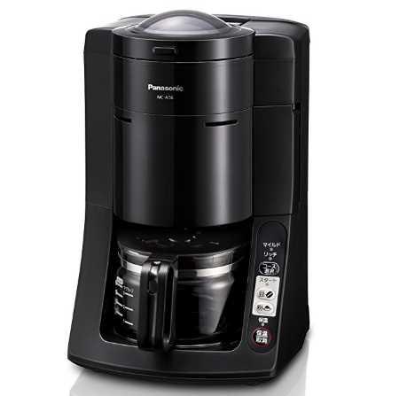 パナソニック 沸騰浄水コーヒーメーカー 全自動タイプ NC-A56-K