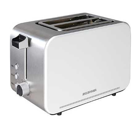 アイリスオーヤマ ポップアップトースター IPT-850-W