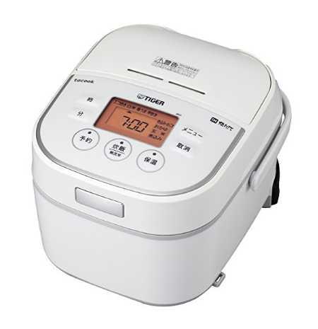 タイガー IH 炊飯器 tacook(タクック)JKU-A551-W