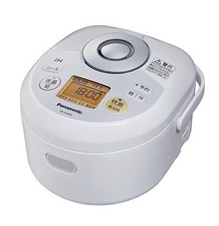 パナソニック 3合 炊飯器 IH式 SR-KA055-W