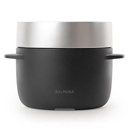 バルミューダ 3合炊き電気炊飯器 BALMUDA The Gohan K03A