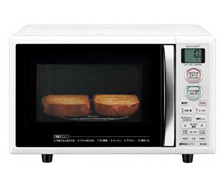 シャープ オーブンレンジ トースト機能付き 15L RE-S5E-W