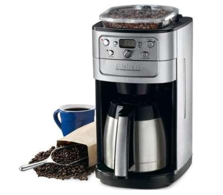 クイジナート 12-cup オートマチックコーヒーメーカー ミル・タイマー付き全自動 DGB-900PCJ