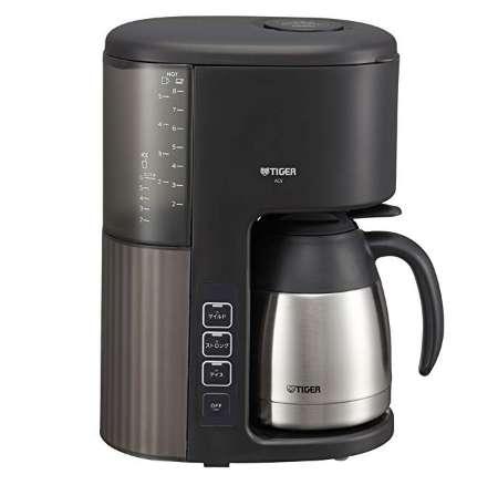 タイガー コーヒーメーカー 8杯用 真空 ステンレス サーバー ACE-S080KQ