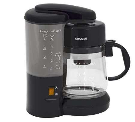 山善 コーヒーメーカー 650ml(5カップ) YCA-500