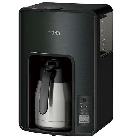 サーモス 真空断熱ポットコーヒーメーカー 1.0L ブラック ECH-1001