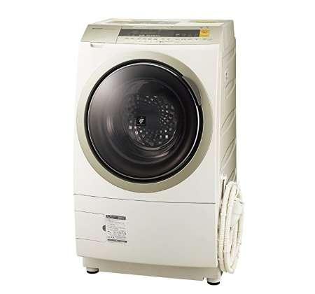 日立 ドラム式洗濯機 ヒートリサイクル 風アイロン ビッグドラム 洗濯12kg 乾燥6kg BD-NX120AL
