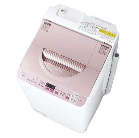シャープ タテ型洗濯乾燥機 穴なし槽 洗濯5.5kg 乾燥3.5kg ES-TX5A