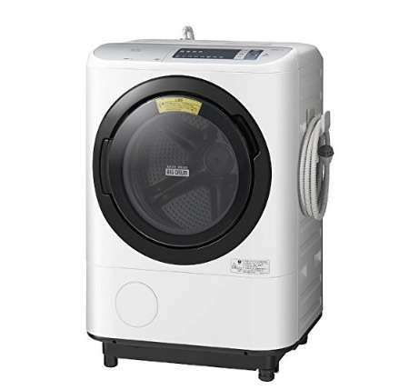 日立 ドラム式洗濯機 洗濯12kg 乾燥6kg BD-NX120AL