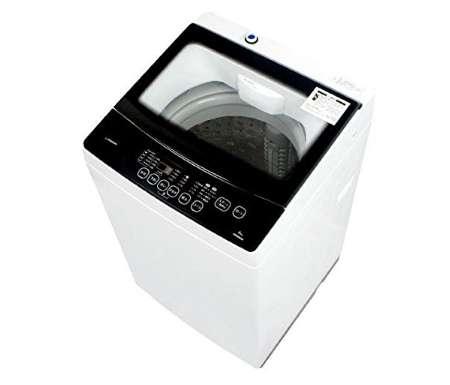maxzen 全自動洗濯機 6.0kg クリアパネル 槽洗浄 簡易乾燥機能 JW06MD01