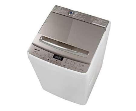 ハイセンス 7.5kg 最短10分で洗濯できる インバーター制御付き 全自動洗濯機 HW-DG75A