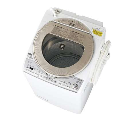 シャープ タテ型洗濯乾燥機 洗濯8kg 乾燥4.5㎏ ESTX8B-N