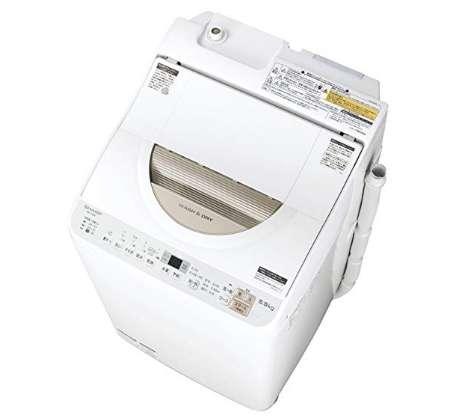 シャープ タテ型洗濯乾燥機 ステンレス穴なし槽 洗濯5kg 乾燥3㎏ ES-TX5B-N