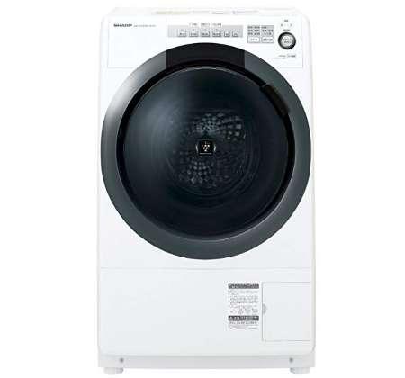 シャープ コンパクトドラム 洗濯7kg 乾燥3.5kg ES-S7C