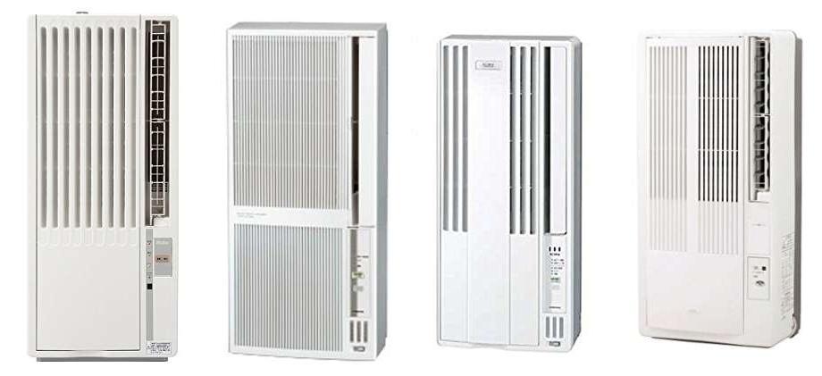 人気の窓用エアコン