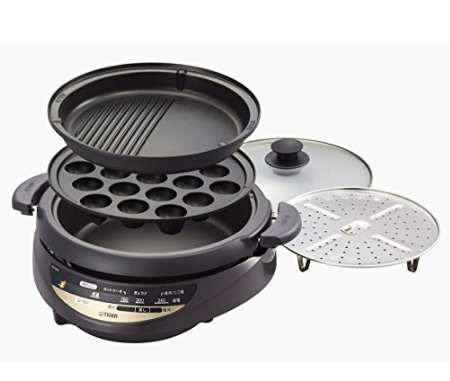 タイガー グリル鍋 3.7L CQG-B300-T
