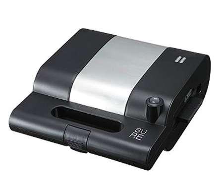 石崎電機 シュアー モテナシベーカー ホットサンドメーカー 焼きおにぎり SMS-802S