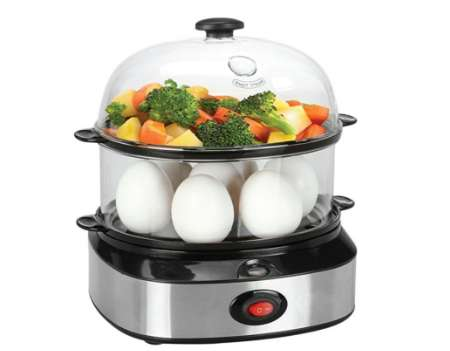 IFLYING 多機能急速電気蒸し卵器 VB01