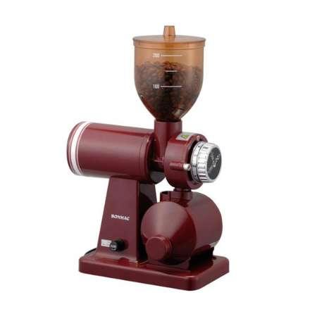 ラッキーコーヒーマシン ボンマック コーヒーミル レッド BM-250N