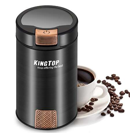 KingTop コーヒーミル 電動式 コーヒーグラインダー KH-001