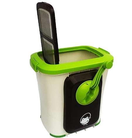 エコクリーン 家庭用 生ごみ処理機 自然にカエル S 基本セット
