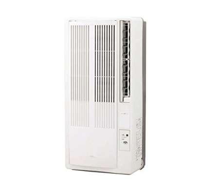 コイズミ 窓用エアコン 冷房専用 6~7畳用 KAW-1672