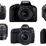 人気のデジタル一眼レフカメラ