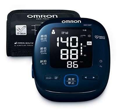 オムロン 電子血圧計 OMRON connect対応 HEM-7282T