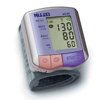 ニッセイ コンパクト手首式 デジタル血圧計 WS-820