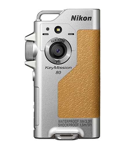 ニコン 防水ウェアラブルカメラ KeyMission 80