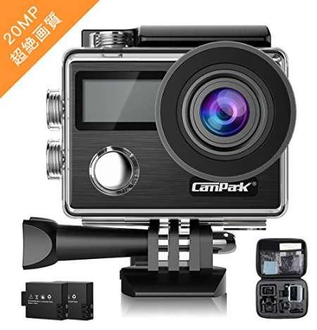 Campark アクションカメラ X-20