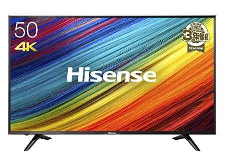 ハイセンス 50V型 4K対応液晶テレビ HJ50N3000