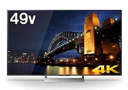 ソニー 49V型 4K対応液晶テレビ ブラビア KJ-49X9000E