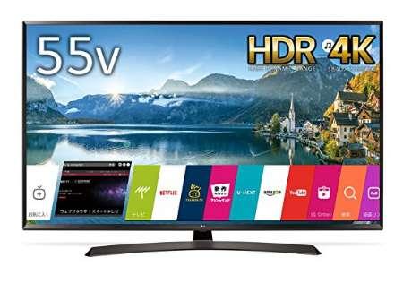 LG 55V型 液晶テレビ 55UJ630A