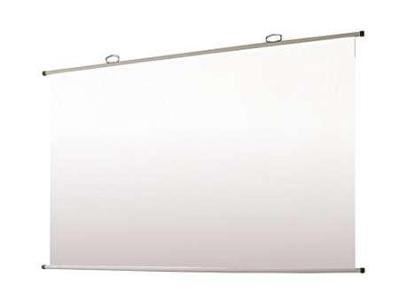 オーエス 掛図スクリーン 100型 SMH-100HN-WG107