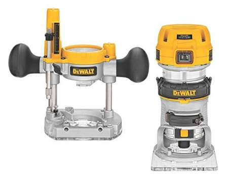 DEWALT 可変速度制御機能付きルーター DWP611PK