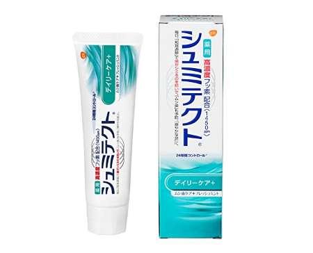 薬用シュミテクト デイリーケア+ 知覚過敏予防 歯磨き粉