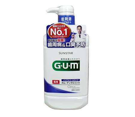 GUM(ガム) デンタルリンス ノンアルコールタイプ