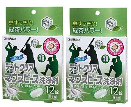 小久保工業所 紀陽除虫菊 デントクリア マウスピース洗浄剤 緑茶の香り