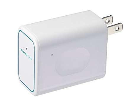 PLANEX ホテルでWiFi コンセント直挿型 無線LANルーター ホテル用 ちびファイ3 MZK-DP150N