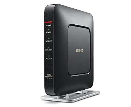 BUFFALO WiFi 無線LAN ルーター WSR-2533DHP/M-CB
