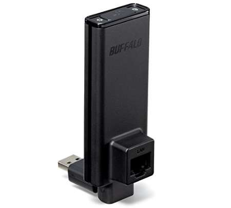 BUFFALO 簡単無線LAN子機 WLI-UTX-AG300
