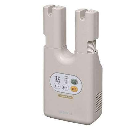 アイリスオーヤマ 靴乾燥機 ダブルノズル オゾン 脱臭 SDO-C1
