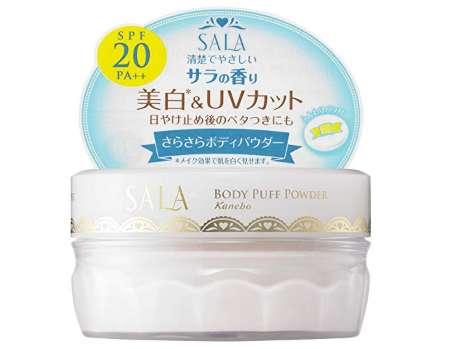 サラ ボディパフパウダー UV サラの香り