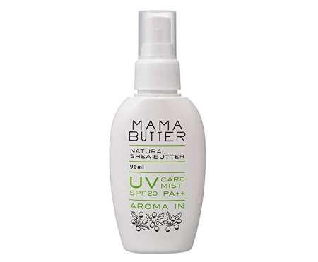 ママバター UV ケアミスト アロマイン