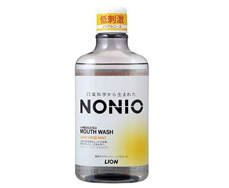 NONIO マウスウォッシュ ノンアルコール ライトハーブミント