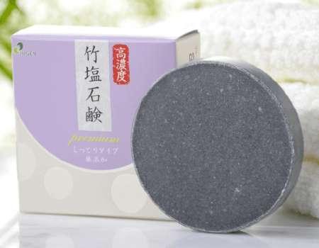 ジュゲン 高濃度 竹塩石鹸premiumしっとりタイプ