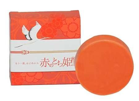 遊月亭 赤のとち姫 化粧石鹸 わく練り製法 無添加